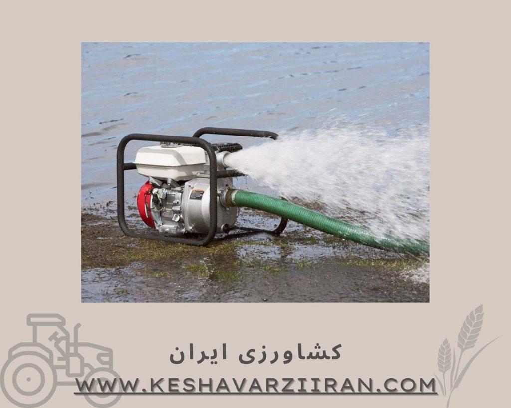 پمپ آب بنزینی-کشاورزی ایران